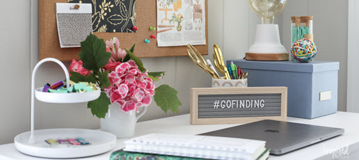 Stylish Ideas for a Small Office